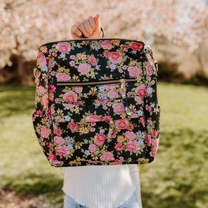 Niya Vegan Leather Convertible Backpack Bag